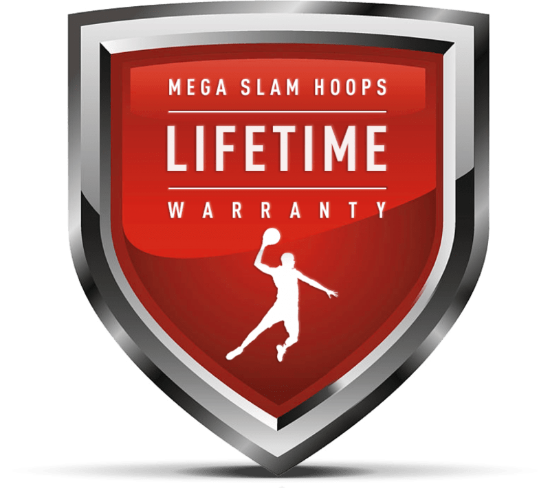 MEGA SLAM HOOPS Lifetime warranty